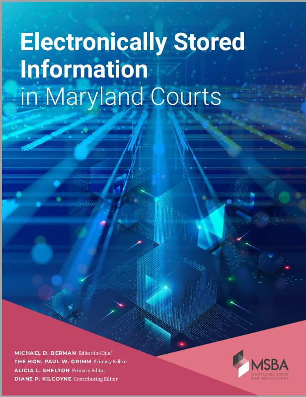 Electronically Stored Information cover