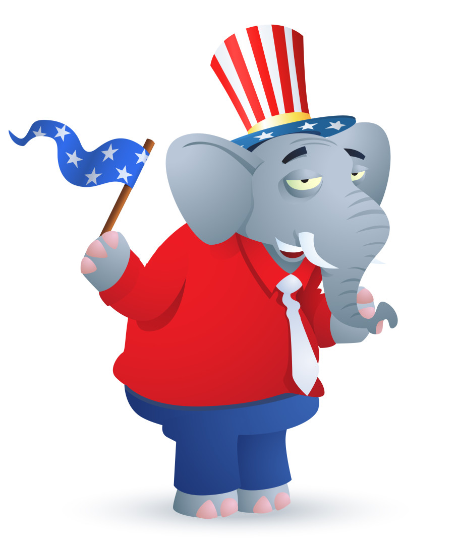 """Republican Party Elephant"""