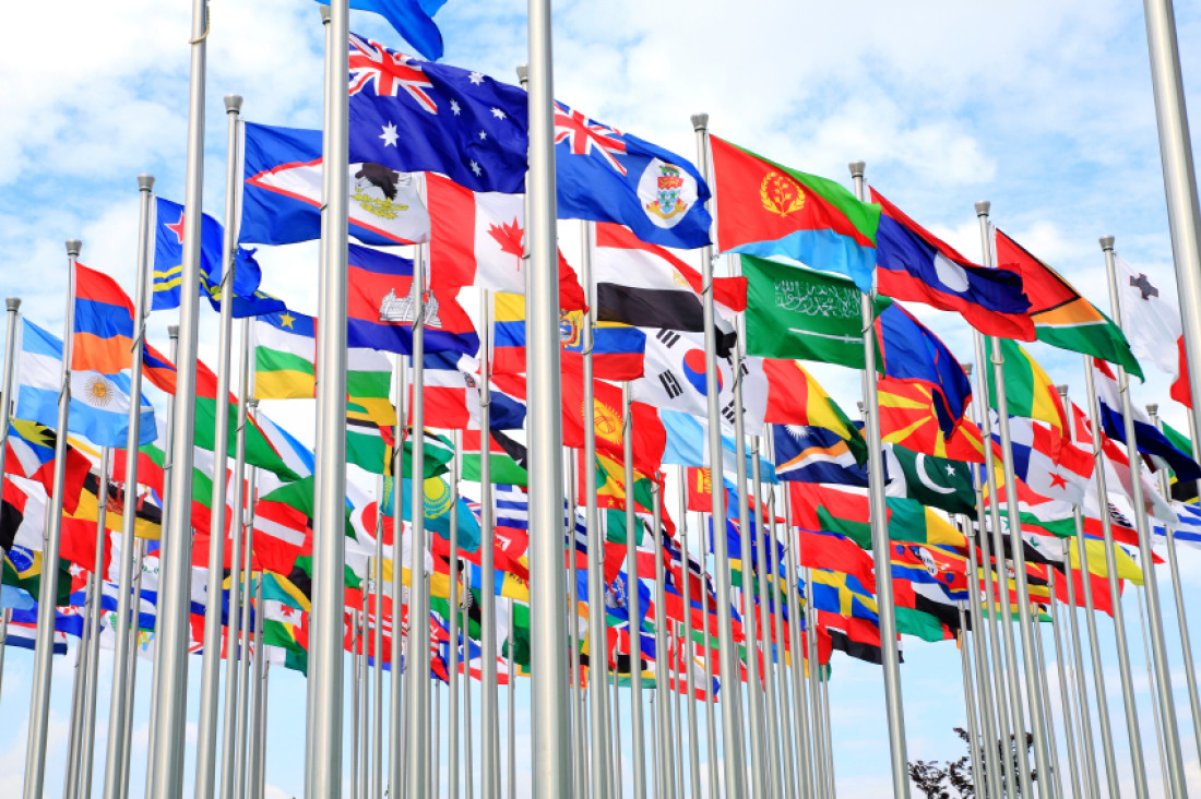 """International Flags"""