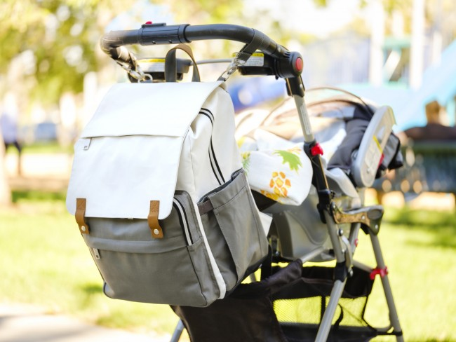 Image of a baby stroller