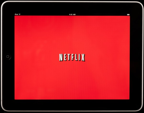 """Apple iPad displaying Netflix"""