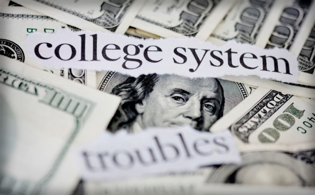 """college system trouble"""