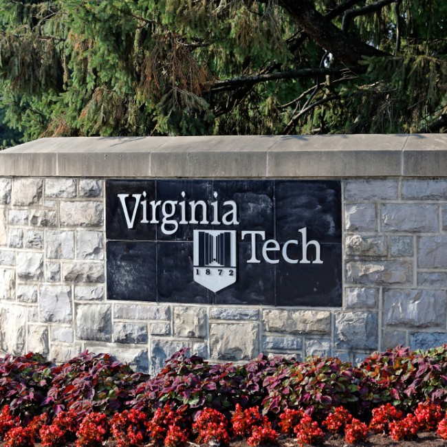 """Virginia Tech Sign"""