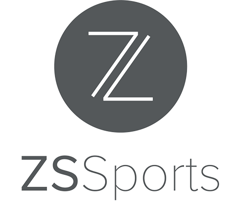 Zuckerman Spaeder ZS Sports logo thin version